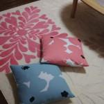 東京都にお住いのK様より『ココット/ピンク・テュット クッションカバー』のご感想