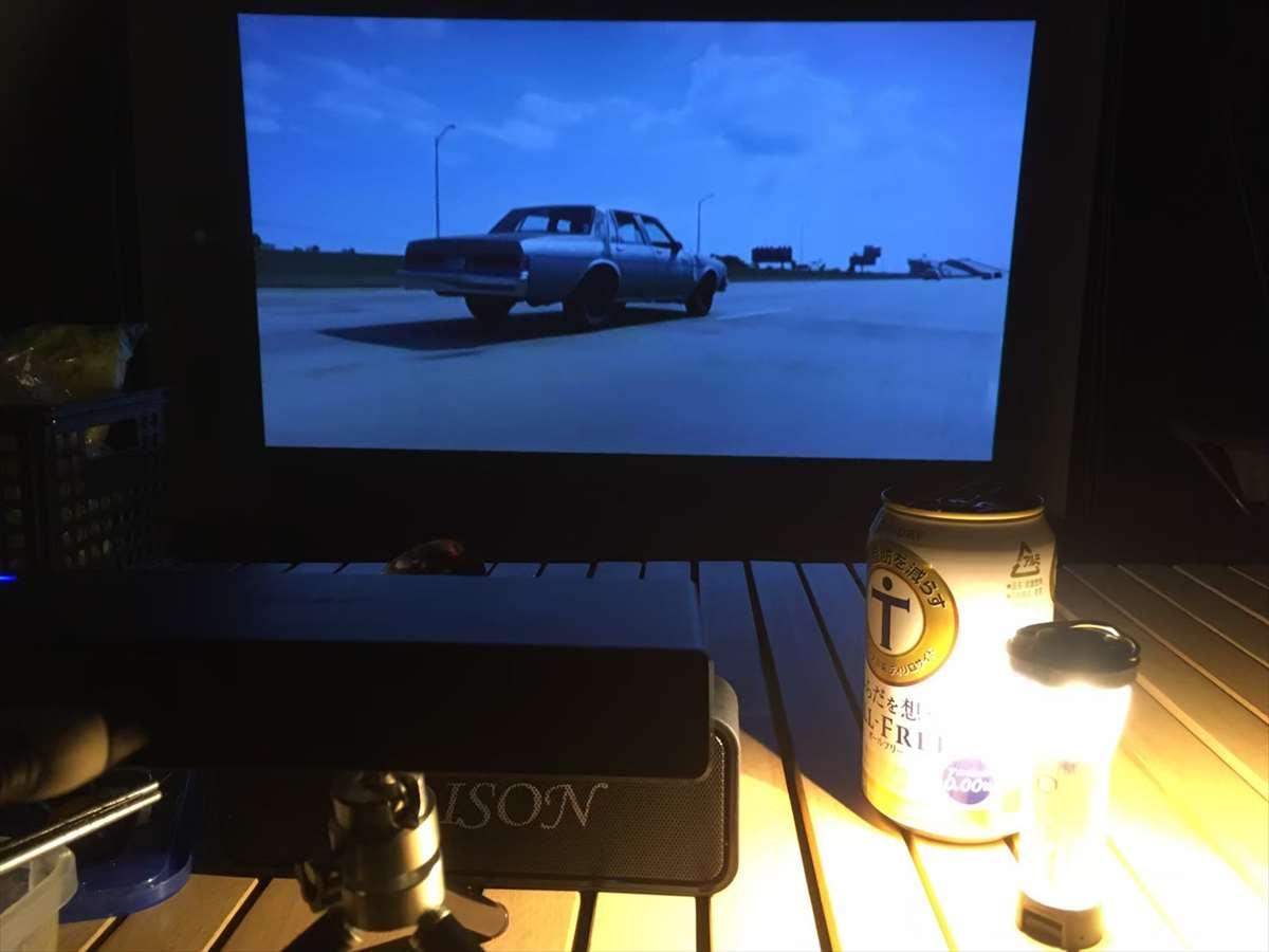 ロールスクリーンプロジェクター